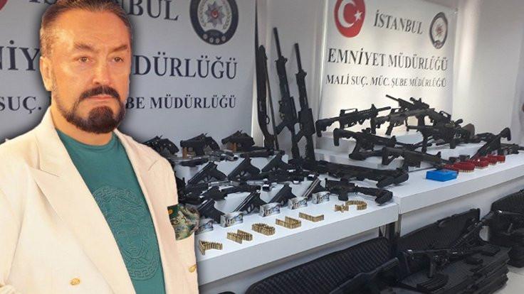 Adnan Oktar operasyonu: Silahların çoğu ruhsatlı