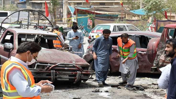 Pakistan'da kanlı seçim