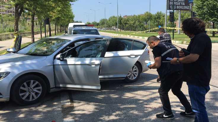 İşadamı Karaman'a silahlı saldırdı
