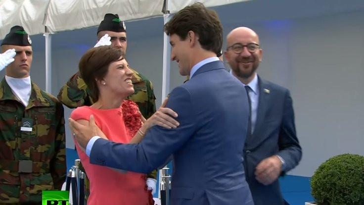 Trudeau'nun 'pas geçme' şakası tartışma yarattı