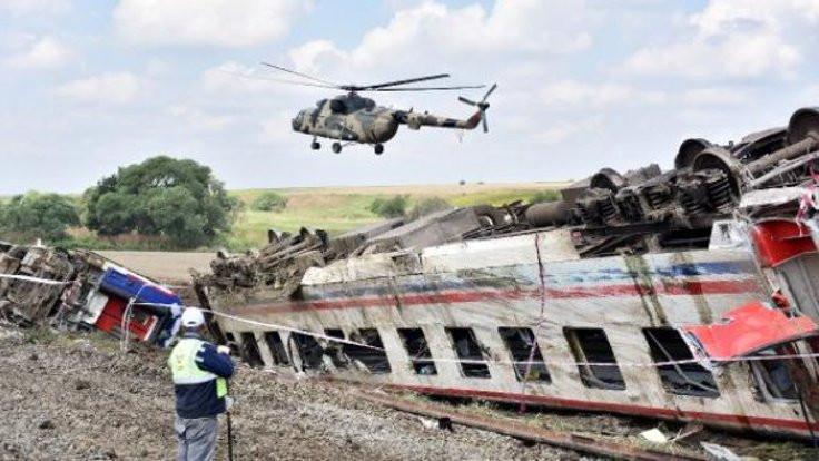 Çorlu tren kazasının faili 'suyun kuvveti' mi?