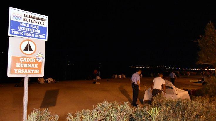 Rezervasyonsuz tatilciler sahilde! - Sayfa 2