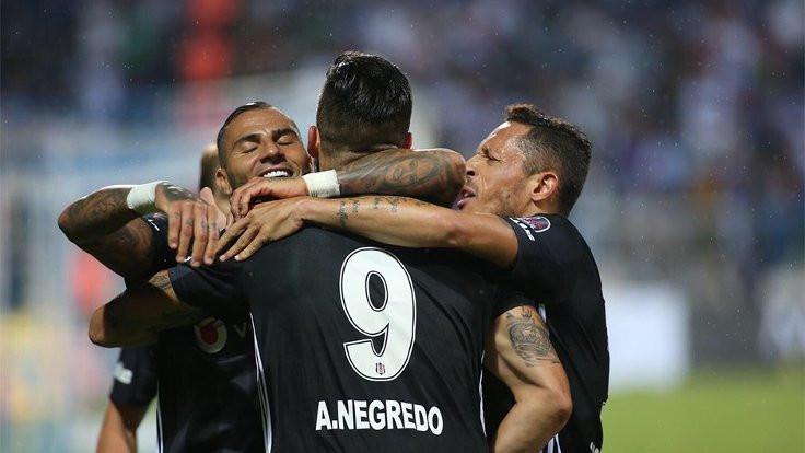 Beşiktaş, Erzurum'dan galibiyetle döndü