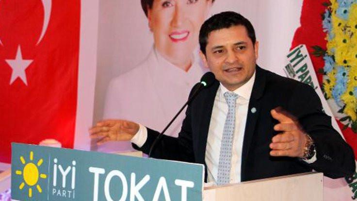 İYİ Parti Tokat il başkanı istifa etti