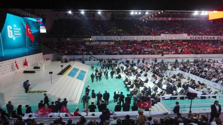 AK Parti kongresi başladı: Bütün büyükşehirleri kazanacağız