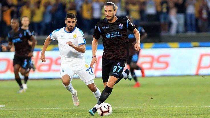 Trabzonspor 3 puanı 90+1'de kaçırdı