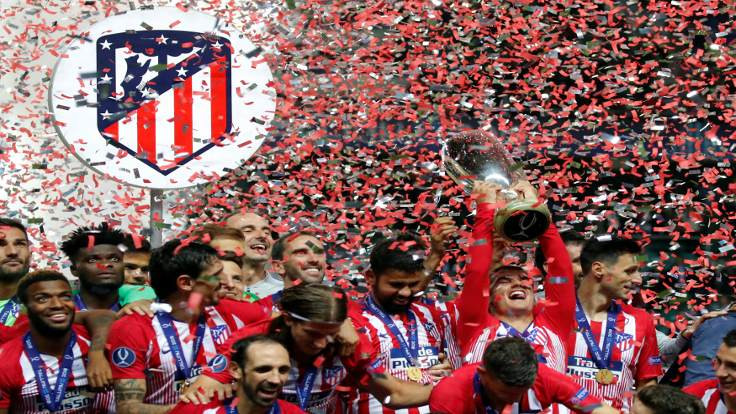 UEFA Süper Kupa şampiyonu Atletico Madrid!