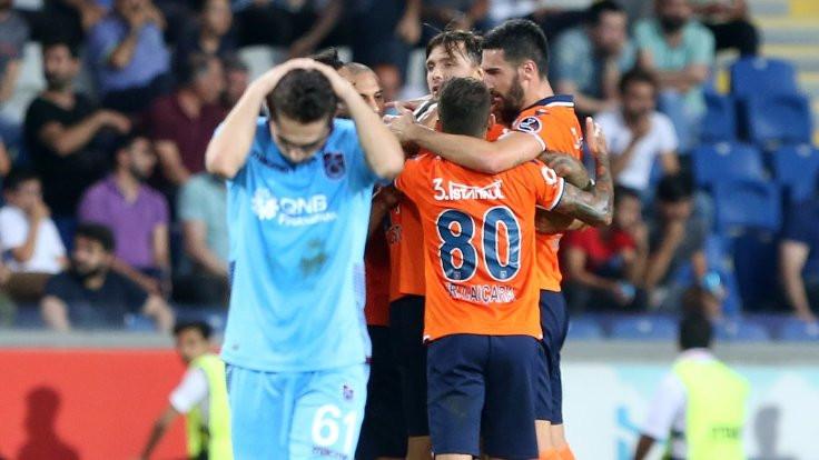 Medipol Başakşehir, Trabzonspor'u mağlup etti