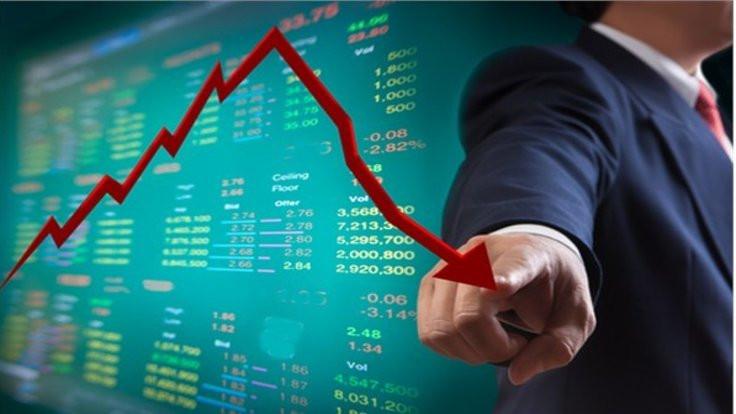 Borsada yüzde 2'lik düşüş
