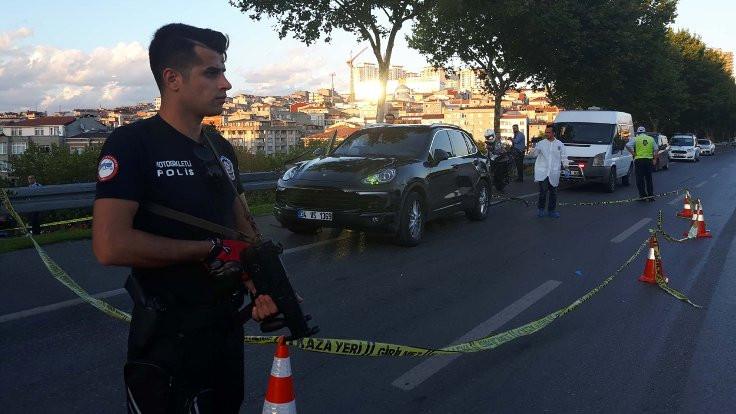 İstanbul'da 'dur' ihtarına uymayan araca ateş açıldı: 1 yaralı