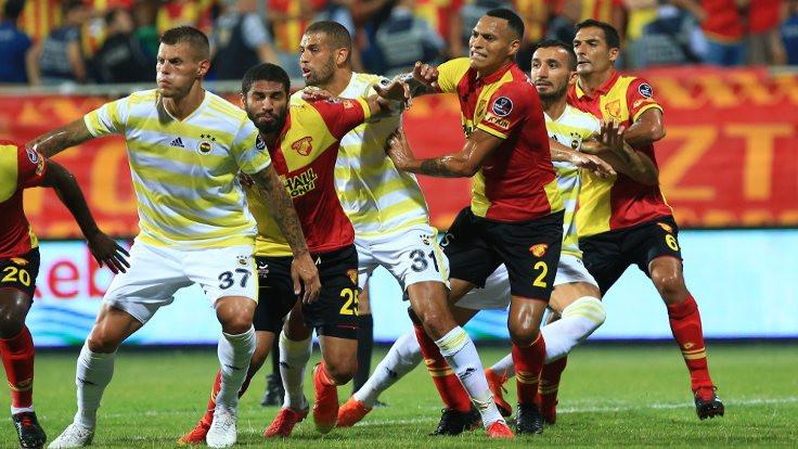 Göztepe, Fenerbahçe'yi tek golle mağlup etti