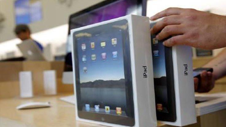 Apple mağazasında tablet patladı