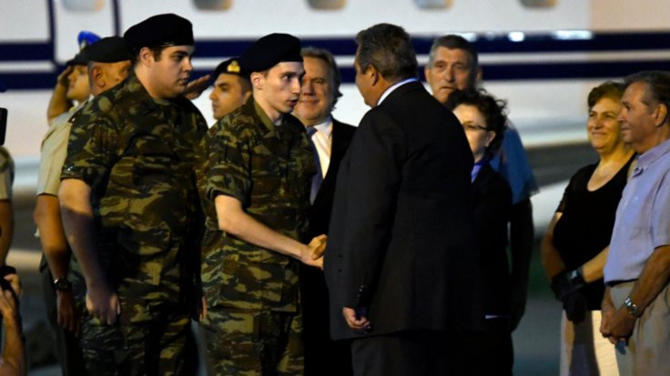 Serbest kalan Yunan askeri: Bize iyi baktılar