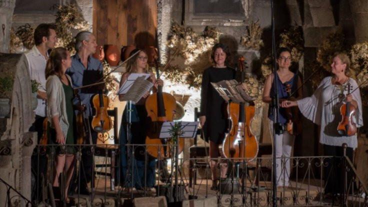 Kapadokya'da müzik festivali
