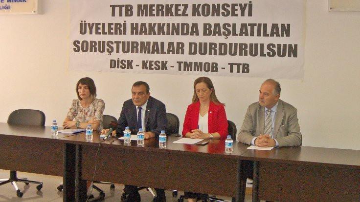 'Bakanlık TTB'ye müdahale etmesin'