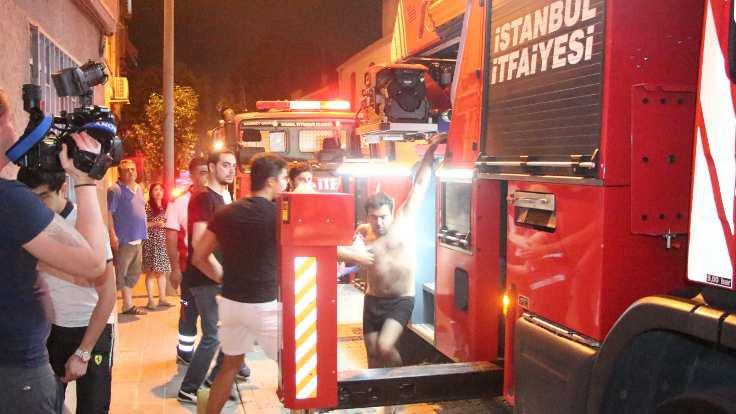 Fatih'te yine yangın çıktı!