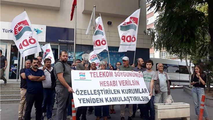 ÖDP'den Telekom protestosu