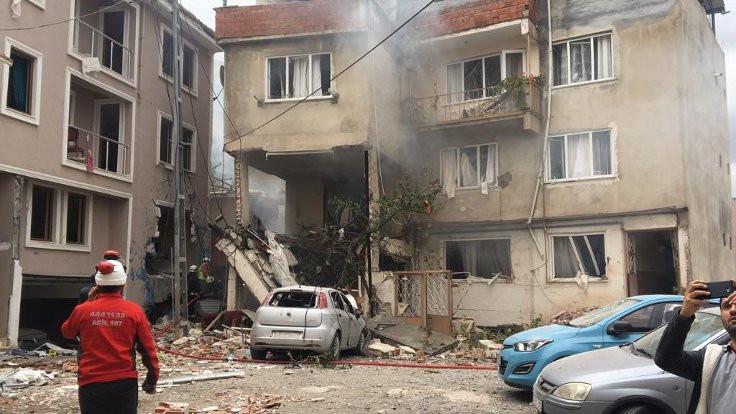 Bursa'da doğal gaz patlaması: 6 yaralı