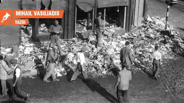 Eritme programının bir halkası olarak 6 Eylül 1955 olayları