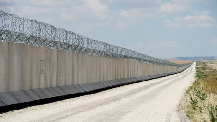 Suriye sınır duvarının yüzde 93'ü tamamlandı