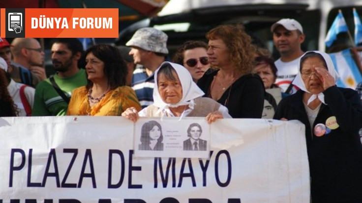 Dünya Forum: Arjantin'in Plaza de Mayo Anneleri