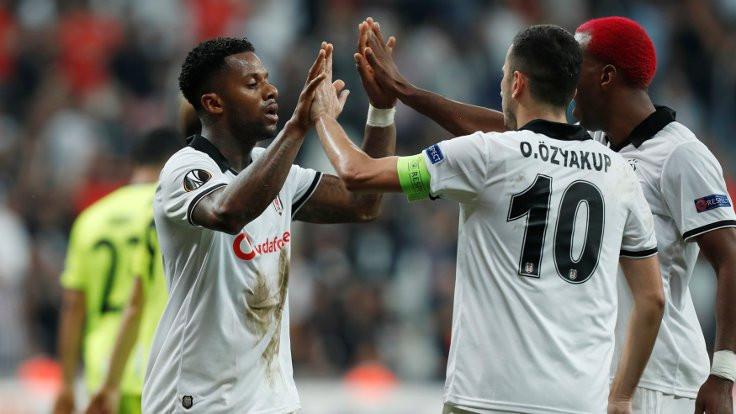 4 gollü maçta kazanan Beşiktaş
