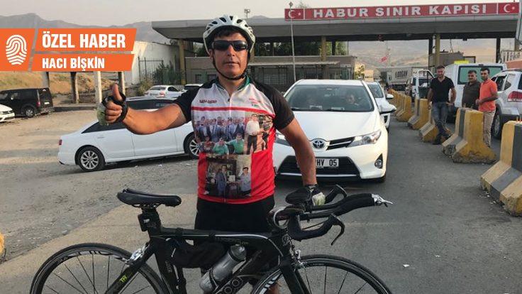 Bisikletle Edirne'den Habur'a: İnsanımız çok iyi