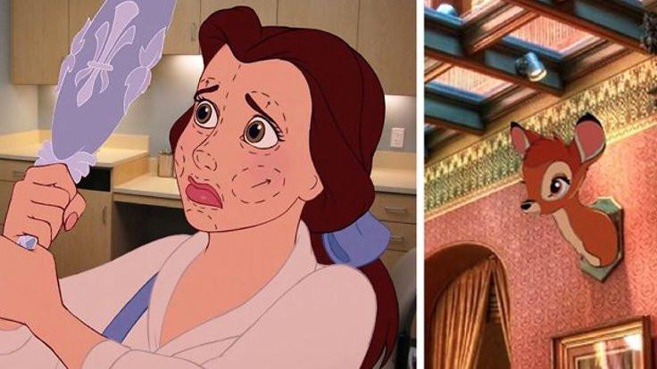 Disney karakterlerinin 'mutsuz' sonları