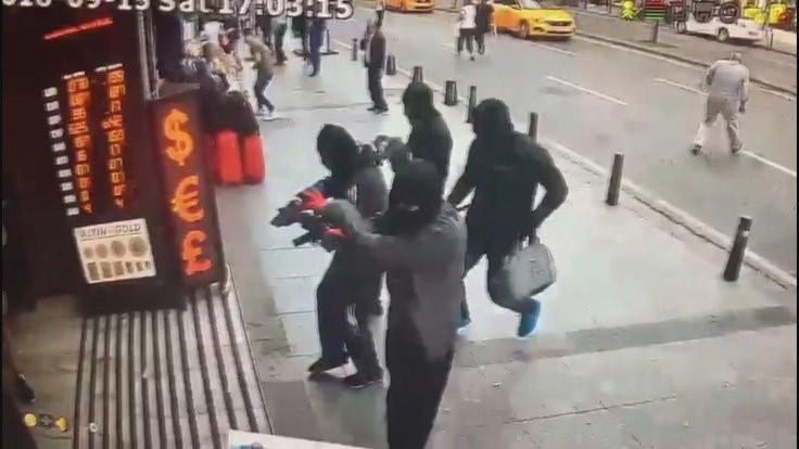 Şişli'de döviz bürosu soygunu