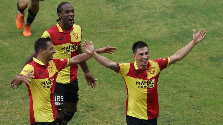 5 gollü maçta kazanan Göztepe