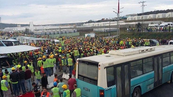 Üçüncü havalimanı işçileri ne istiyor?