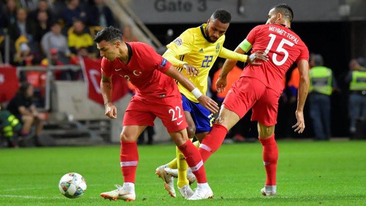 Türkiye, geriye düştüğü maçta İsveç'i mağlup etti