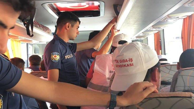 Cargill işçileri gözaltına alındı
