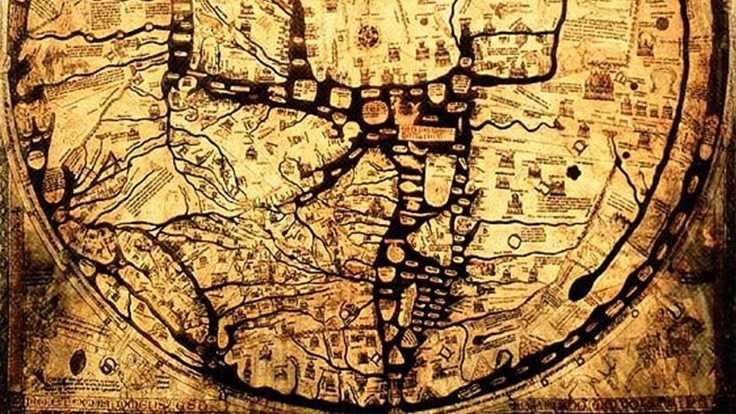 Bin yıllık haritanın şifresi çözüldü!