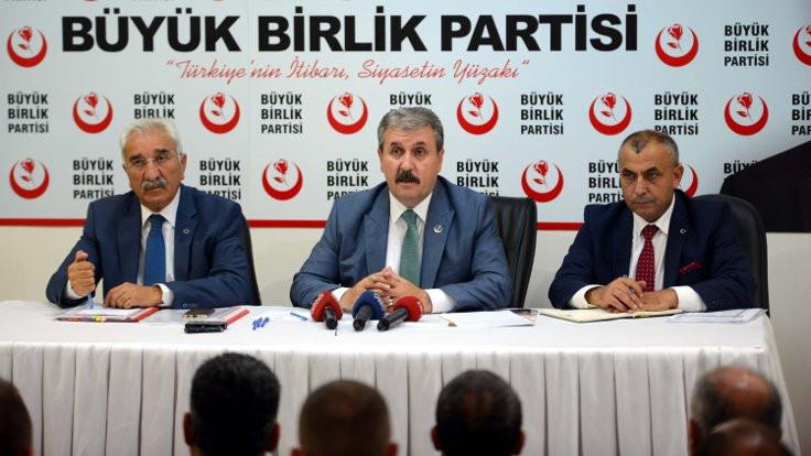 Destici: İdlib düşerse Türkiye'nin Afrin'den çekilmesini isteyecekler