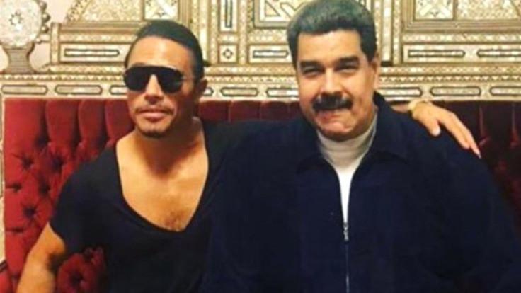 Nusr-Et'teki Maduro muhalefeti kızdırdı