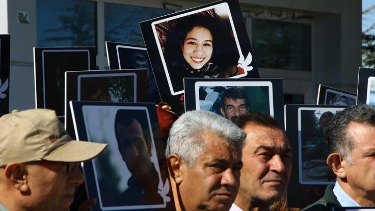 Ankara Katliamı'nda hayatını kaybedenler anıldı