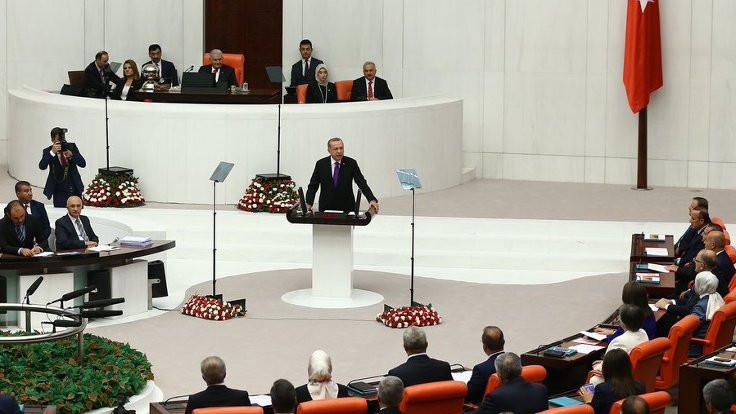Erdoğan yürütme yetkisiyle Meclis'te: ABD'yle meseleleri çözmeyi umut ediyoruz