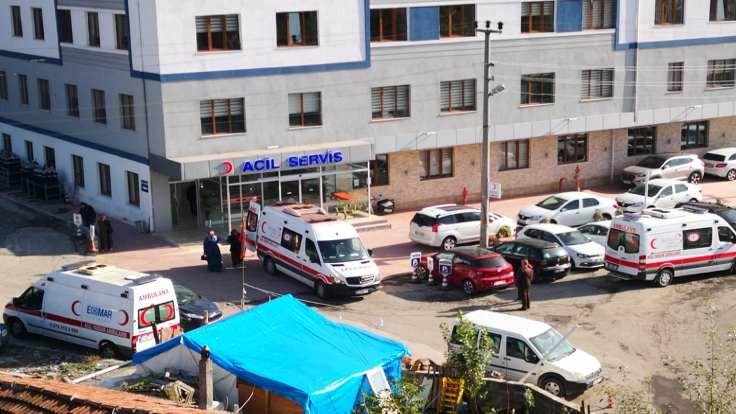 Erdemir'de 8 kişi hastanelik oldu