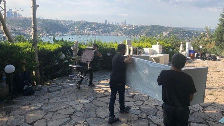 Adnan Oktar'ın villası boşaltıldı