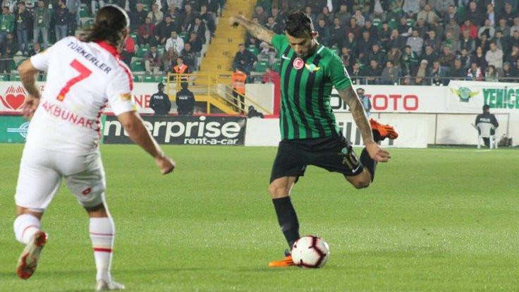 Akhisarspor, 3 puanı tek golle kazandı