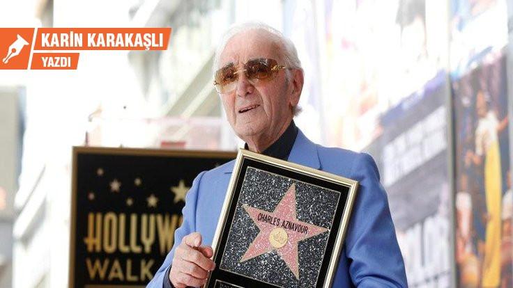 Şansonların beyefendisi: Charles Aznavour