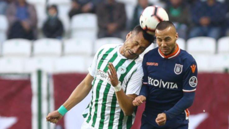Başakşehir, Konya'yı tek golle devirdi