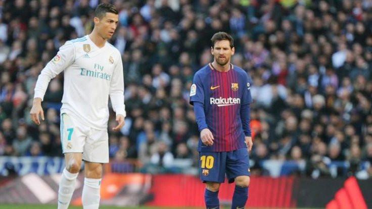 Messi ve Ronaldo forma giymeyecek