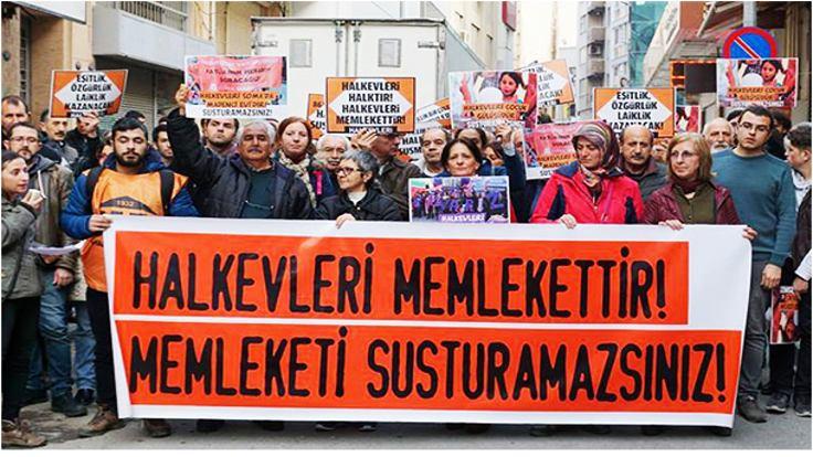 Ankara'da Halkevleri'ne operasyon