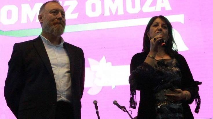 HDP'den Salih'e kutlama
