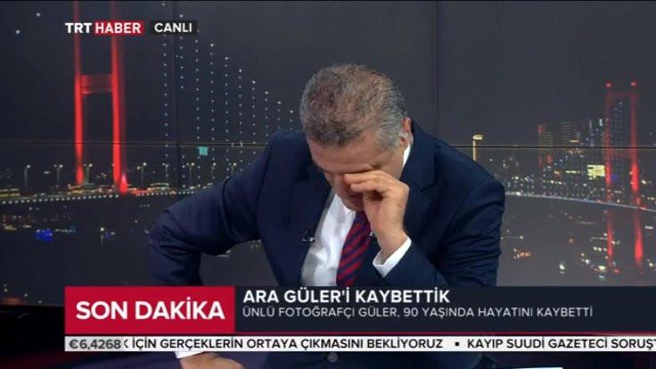 Ara Güler'i duyunca yayında ağladı