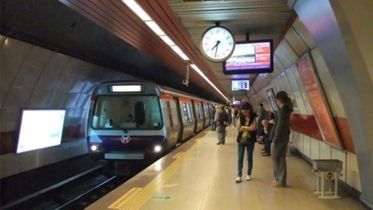 İstanbul'da bazı metro seferleri yapılamıyor