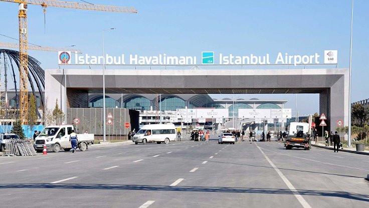 3. havalimanına tabela asıldı!