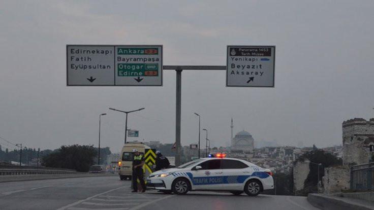 İstanbul'da kapalı yollar açıldı